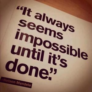 no impossibility